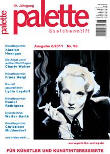 Kunstzeitschrift Palette